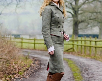 tweed jackets and skirts
