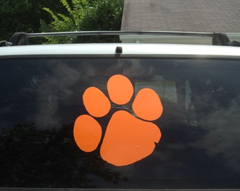 Clemson Tiger Paw Etsy