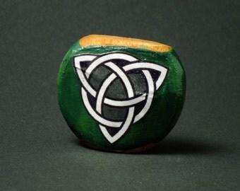 Celtic Trinity Knot Wooden Cigarette Holder