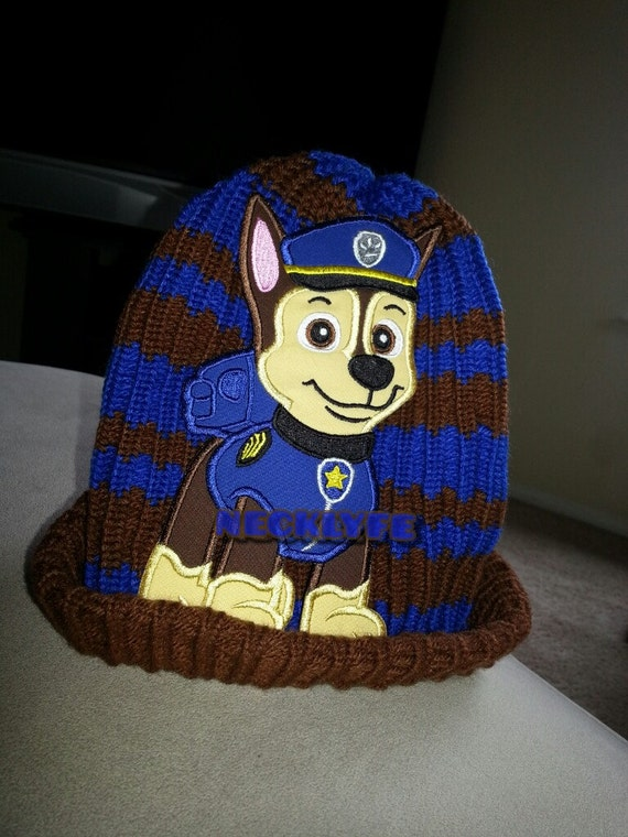 Knitting Pattern Paw Patrol : Hand Knitted Paw Patrol Hat