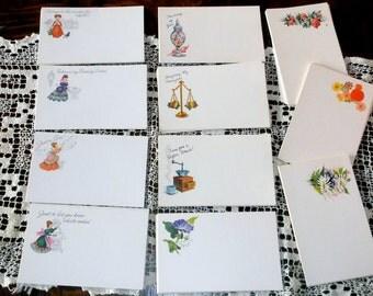 95 Vintage Current Greeting PostCards • unused in boxes • variety