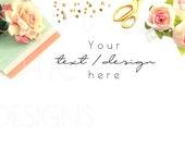 Feminine Desktop Image | Product Background Image |  Product Display | Blog Image | Instagram Image | 027f