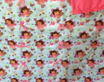 Dora the Explorer blanket