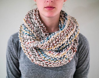 Chunky Knit Infinity Scarf / THE SHANNON / Hudson Bay