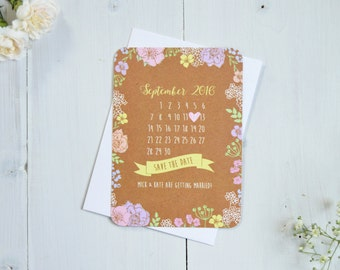 Pretty in Pastel Save the Date