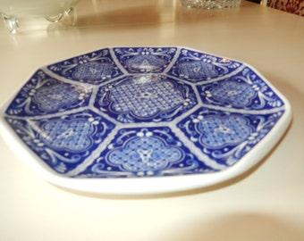 ITALY ARDALT BLU Cinese Plate