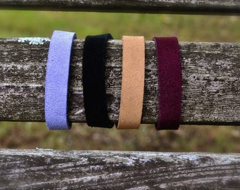 Children's/Toddler Aromatherapy Leather Cuff for Essential Oils