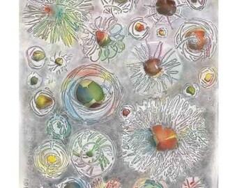 Flower Cosmology PRINT