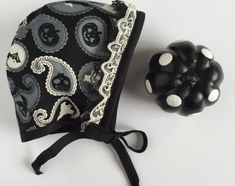 Something Wicked baby bonnet