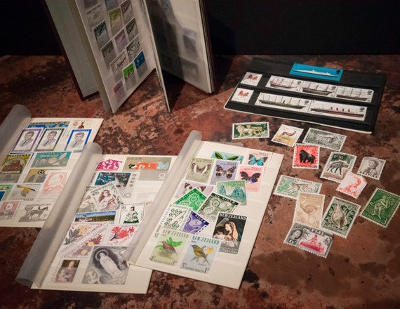 Small Stamp Collection From all Over the World