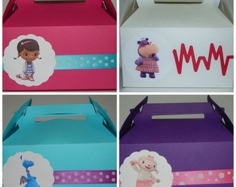 Doc McStuffins Favor Box