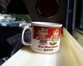Campbells M'm M'm Good Kids Soup Ceramic Mug Cup Westwood 1989 Mm' Mm Good