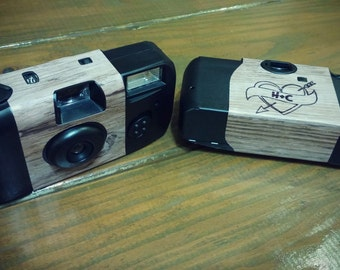 Disposable Camera WITH Custom Labels and table cards