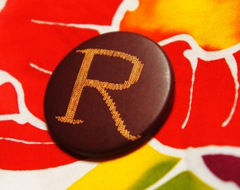 "Badge ""R"" - HARRY POTTER / Ron Weasley / Harry Potter / pullover / wool / Mrs Weasley"