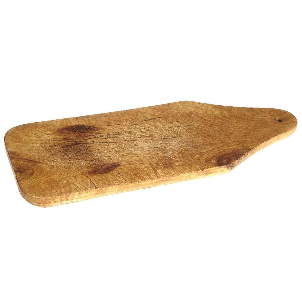 Medium Antique Wood Cutting Board French Vintage Chopping