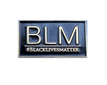 BlackLivesMatter Blk and Gold