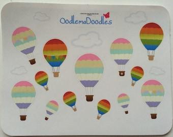 Hot Air Balloons: B18