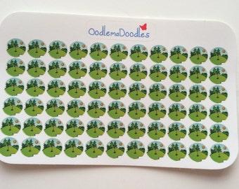 Golf Stickers: D18