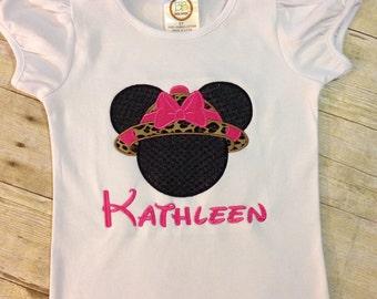 Mickey safari shirts/ minnie safari shirt/ Safari shirts/ Animal Kingdom safari hat shirts
