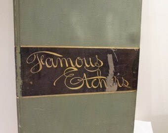 Rare 1889 book 'Famous Etchers' by Estes and Lauriat from