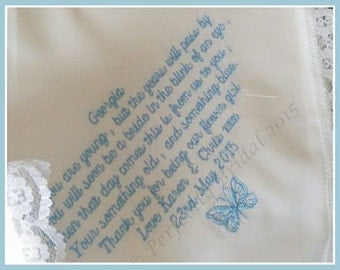 Flower girl 2 Lace hankie
