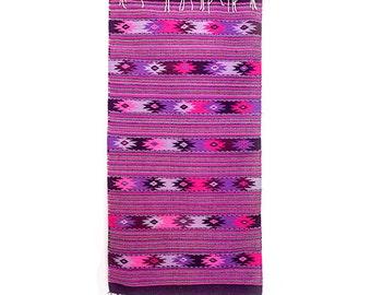 Woolen Rug | Purple