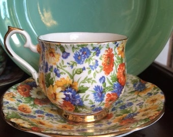 Royal Ardalt Chintz Cup and Saucer