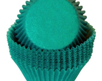 Green Cupcake Liners - 50 Count