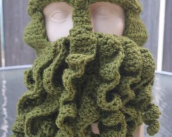 Deluxe Crochet Cthulhu Ski Mask