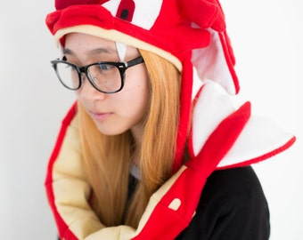 Shiny Gyarados Pokemon Hat (Ready to Post)