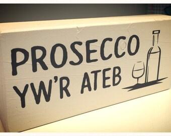 Shelf Sitter - Prosecco - Welsh