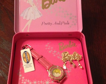 Barbie Pretty and Pink Fossil Watch 1994