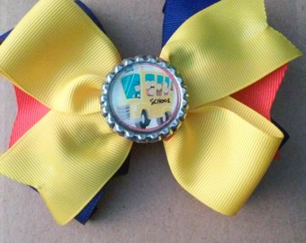 Back to School Hair bow