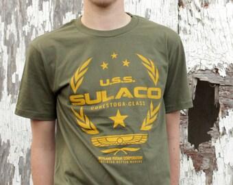 Aliens Movie T-shirt USS Sulaco