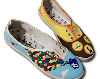 UP Inspired Canvas Shoes