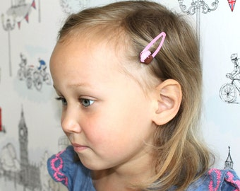 Cupcake Love - cupcake hair clips - girls hair accessories