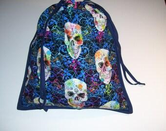 LOVELY CARRYING BAG - skulls shoe bags - skull bags - skull travel bags - skull school bags - skull tote bags - skull gym bags - skull totes