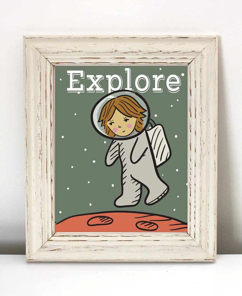 Science Bedroom Decor Space Theme Room Etsy