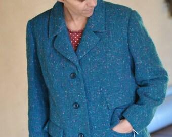 SALE! Vintage retro tweed Jacket.