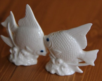 Angel Fish - vintage Salt and Pepper Shakers