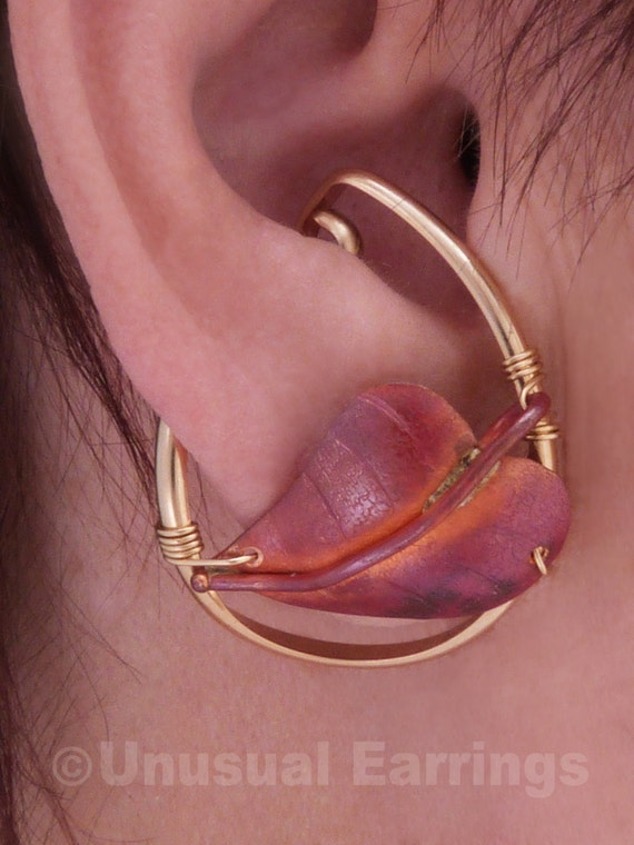 gold filled unpierced earrings non pierced ear cuff gold filled unpierced earrings non pierced earrings copper 8363