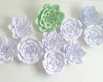 Giant paper flowers/ Paper flower Backdrops