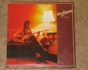"Eric Clapton ""Backless""Vinyl record NM/M"