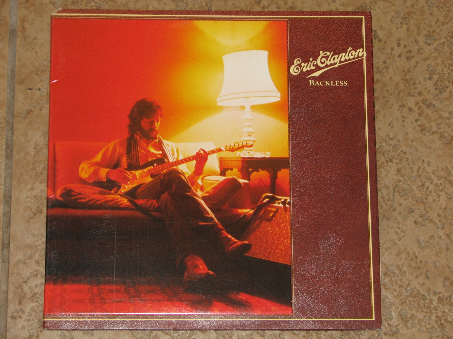 Eric Clapton Backlessvinyl Record Nm M