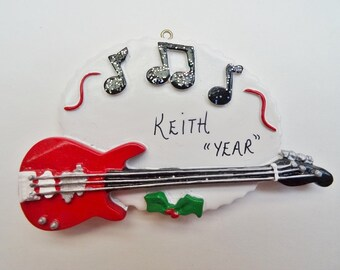 Guitar ornament  Etsy