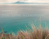 Aqua Sea Australian beach Inspirational landscape fine art photograph 'Let's Go Here' Wanderlust wall decor vision board images