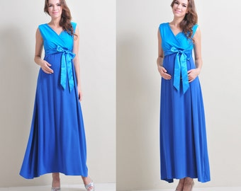 www.mum2be.com.au, Maternity Maxi Dress, Easy for Breastfeeding,Maternity Evening Gown for weddings,parties,Baby Showers,special occasion