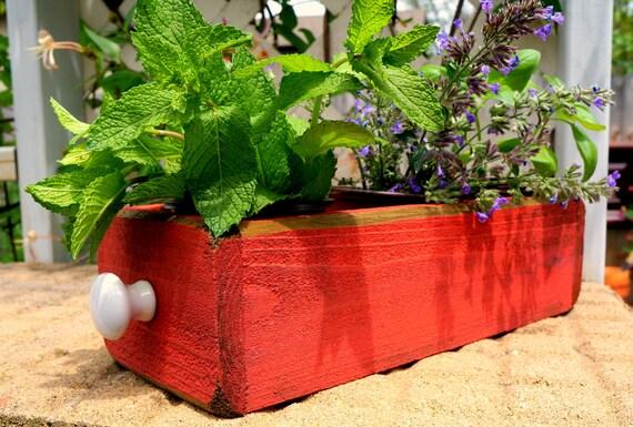 Indoor Planter Herb Planter Box Window Box Storage Box Cedar