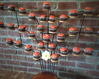 Cupcake Tree Stand- Perfect For Fall and Summer Weddings
