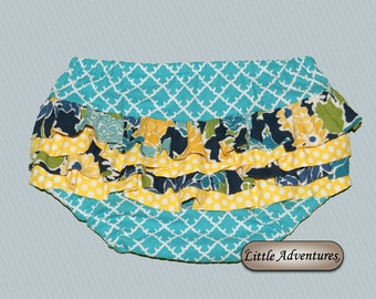 Baby/Toddler Teal Diaper Cover